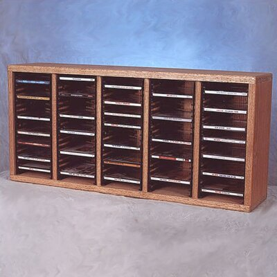 500 Series 100 CD Multimedia Tabletop Storage Rack