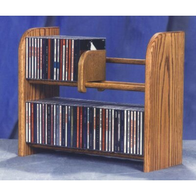 200 Series 84 CD Multimedia Tabletop Storage Rack