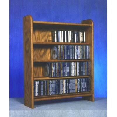 Wood Shed 400 Series 220 CD Multimedia Storage Rack