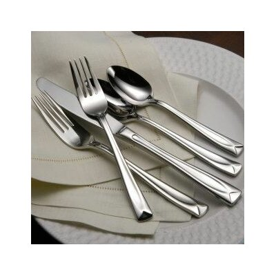Wallace Home Loft 45 Piece Flatware Set | Wayfair