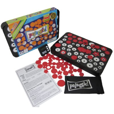 Pajaggle Board Set in Black / Red