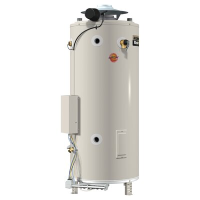A.O. Smith BTR-500 Commercial Tank Type Water Heater Nat Gas 85 Gal Master-Fit 500,000 BTU Input