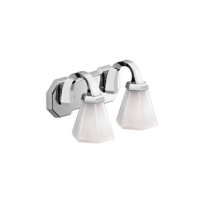 Creative Specialties by Moen Felicity 2 Light Bath Vanity Light
