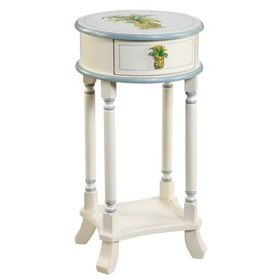 Shoreline Betsy Drake Pineapple End Table