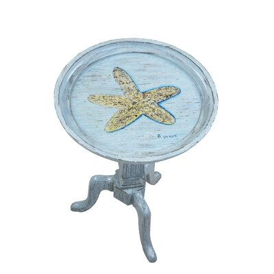 Gail's Accents Shoreline Betsy's Starfish End Table