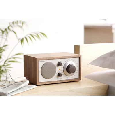 Tivoli Audio LLC Model One Radio in Walnut / Beige