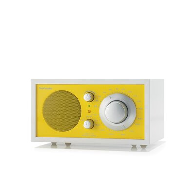 Tivoli Audio LLC Model One Radio in Frost White / Sunflower Yellow