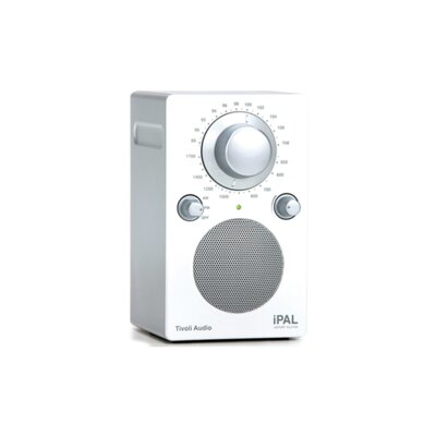 Tivoli Audio LLC iPAL in High Gloss White / Silver