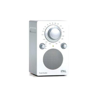 Tivoli Audio LLC iPAL in High Gloss White / Silver