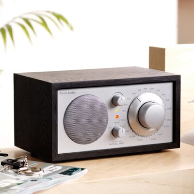 Tivoli Audio LLC Model One Radio in Black Ash / Silver