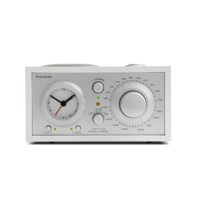 Tivoli Audio LLC Model Three AM/FM Clock Radio
