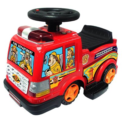 Kidz Motorz Engine 6V Battery Powered Fire Truck