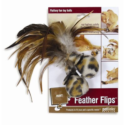 Petlinks System Feather Flips Cat Toy