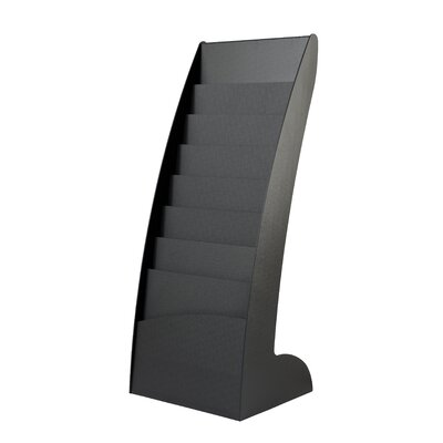 Paperflow 8 Pocket Curved Floor Literature Display