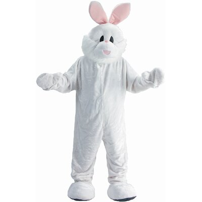 Dress Up America Cozy Bunny Mascot Adult Costume Set