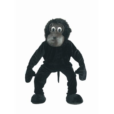 Scary Gorilla Mascot Adult Costume Set