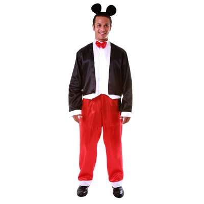 Deluxe Adult's Mickey Mouse Adult's Costume