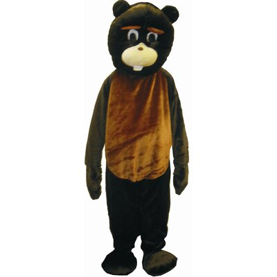 Dress Up America Beaver Mascot Costume Set