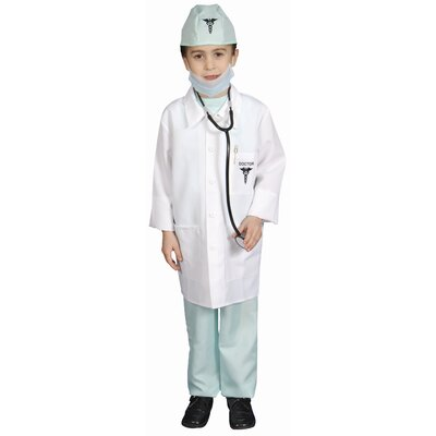 Deluxe Doctor Dress Up Children's Costume Set