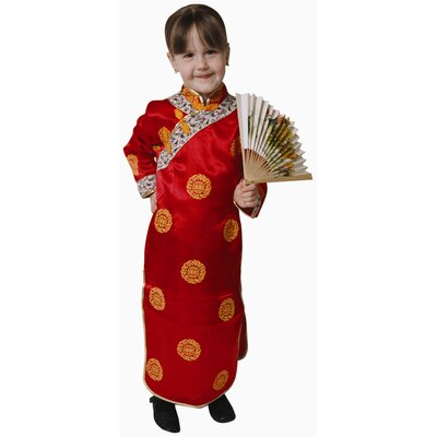 Chinese Girl Dress Up Children's Costume