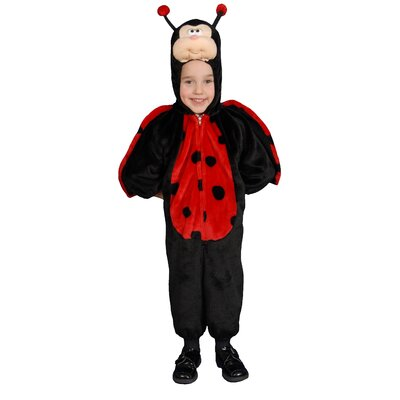 Dress Up America Cute Little Ladybug Children's Costume Set