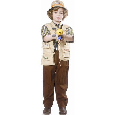 Dress Up America Fisherman Children's Costume