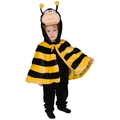 Dress Up America Little Honey Bee Children's Costume Set