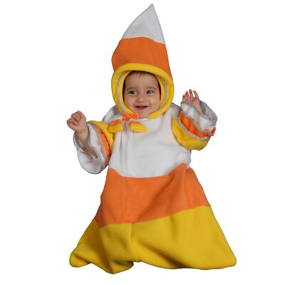 Dress Up America Baby Candy Corn Costume