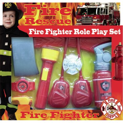 Dress Up America Fire Fighter Role Play Kit