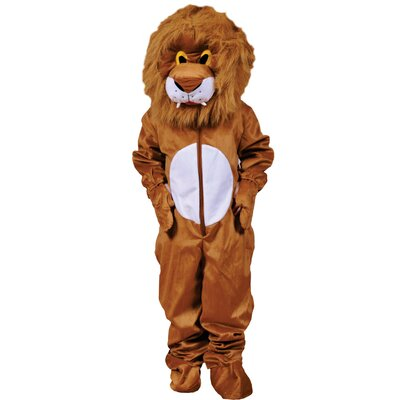 Plush Lion Costume