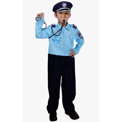 Dress Up America Israeli Police Officer Costume