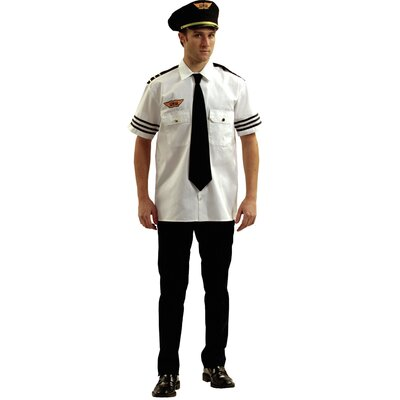 Dress Up America Adult Pilot Costume