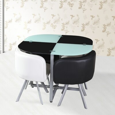 Tip Top Furniture Ziggy 5 Piece Dining Set