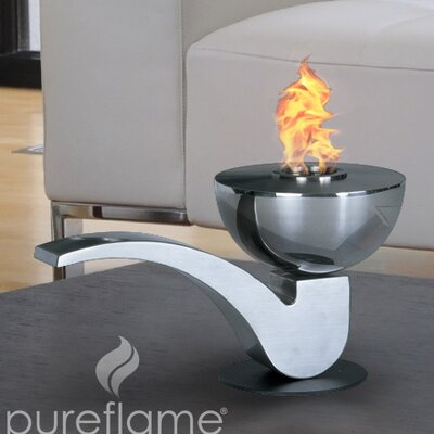 Aquafires Pureflame Pipe Mobile Fireplace