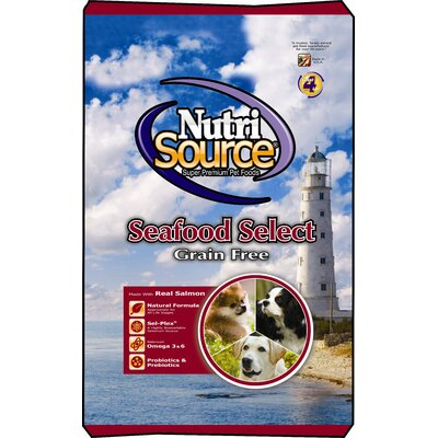 Nutri Source Grain Free Seafood Select Dry Dog Food