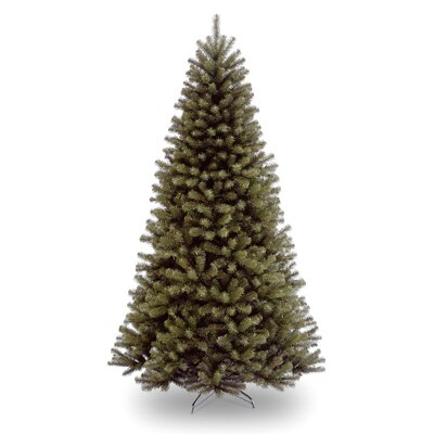 National Tree Co. North Valley 7.5' Green Spruce Artificial Christmas Tree with Stand