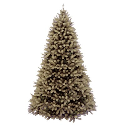 National Tree Co. Douglas Fir Downswept 7.5' Beige Artificial Christmas Tree with Stand