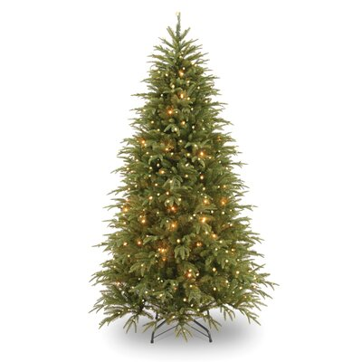National Tree Co. Pre-Lit 7.5' Medium Weeping Spruce Artificial Christmas Tree with 750 Pre-Lit Clear Lights with Stand