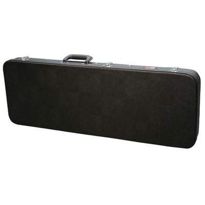Gator Cases Economy Wood Hardshell Case for Fender Jag and Jag Master Guitars in Black