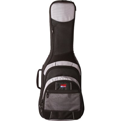 Deluxe Commander Series Bass Guitar Gig Bag in Grey