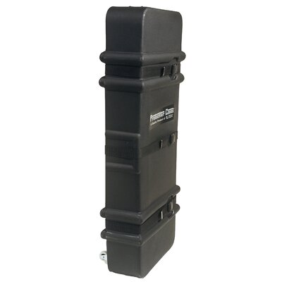 Gator Cases Molded PE Drum Accessory Case with Wheels