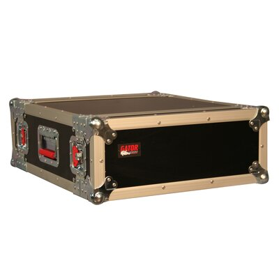 "Gator Cases Tour Wood Flight 19.25"" Deep Audio Road Rack Case"
