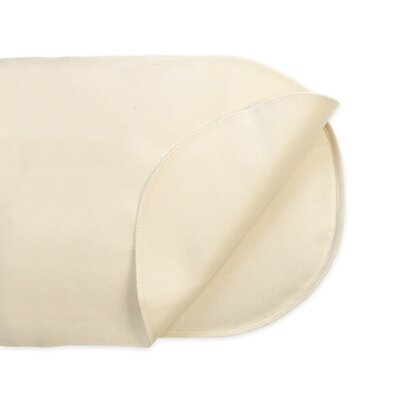 Naturepedic Waterproof Oval Flat Bassinet Pad Cover