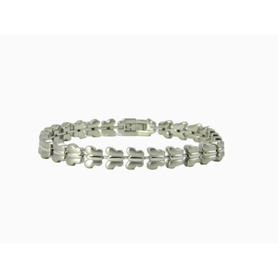 Butterfly Link Fashion Stainless Steel Bracelet