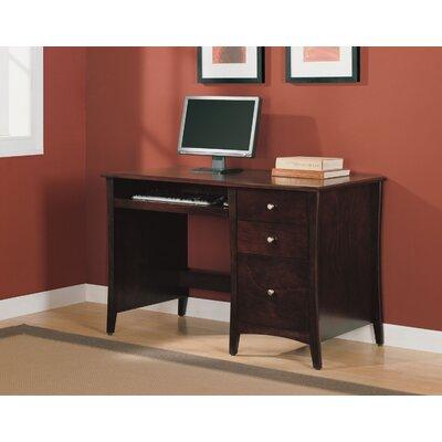 altra single pedestal computer desk with 2 box drawers reviews wayfair. Black Bedroom Furniture Sets. Home Design Ideas