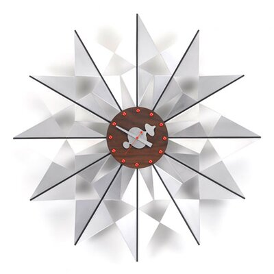 "Vitra Oversized 24"" Flock of Butterflies Wall Clock"