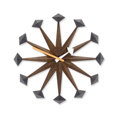 "Vitra 17"" Polygon Wall Clock"