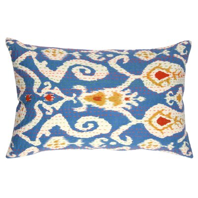 Karma Living Ikat Kantha Accent Pillow
