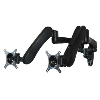 Dyconn Hydro Series Dual Arm Articulating TV / Monitor Wall Mount
