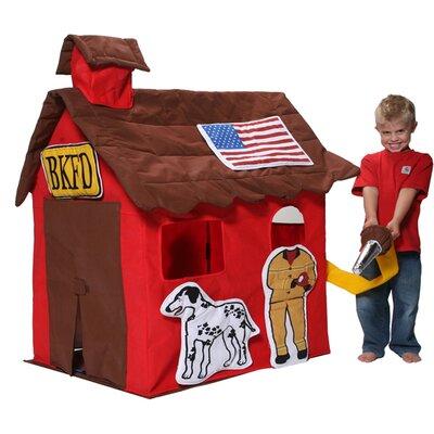 Bazoongi Kids Kids Cottage Firestation Playhouse